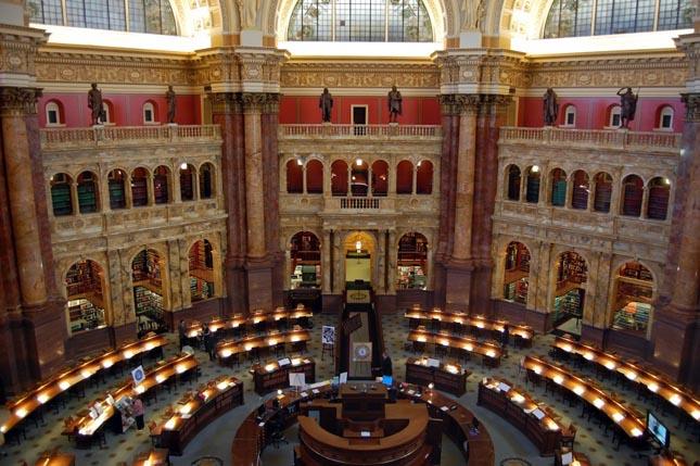 Kongresszusi Könyvtár, Washington, USA
