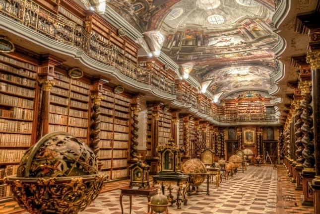 Cseh Nemzeti Könyvtár, Prága, Csehország