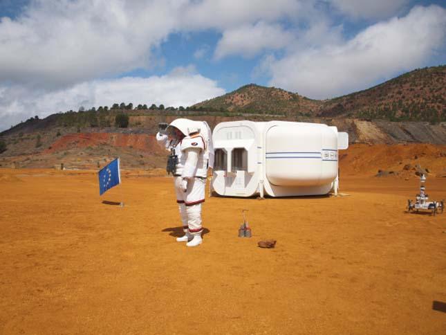 Mars szimuláció