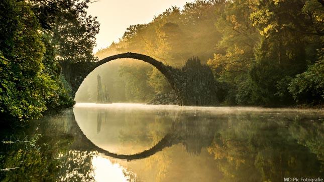 Rakotzbrücke - Ördög hídja