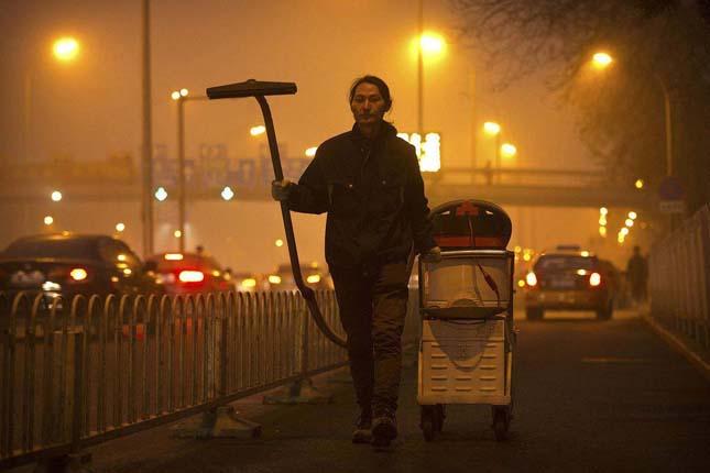 Légszennyezés Pekingben