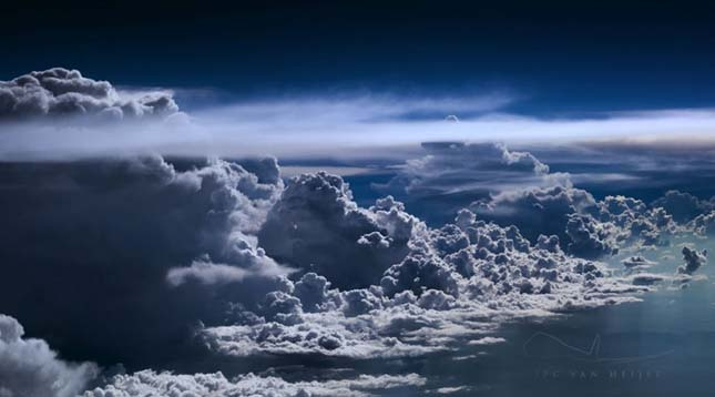 Egy pilóta lenyűgöző fotói