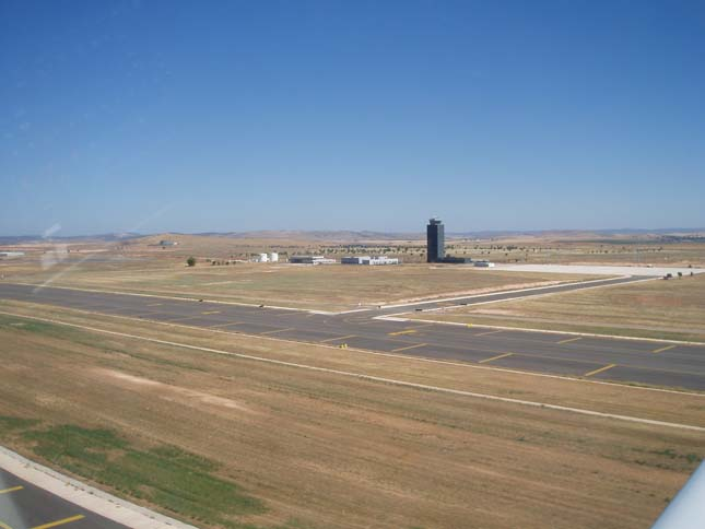Szellemrepülőtér Spanyolországban