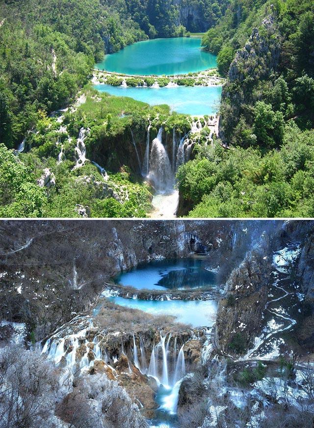 Plitvicei-tavak, Horvátország