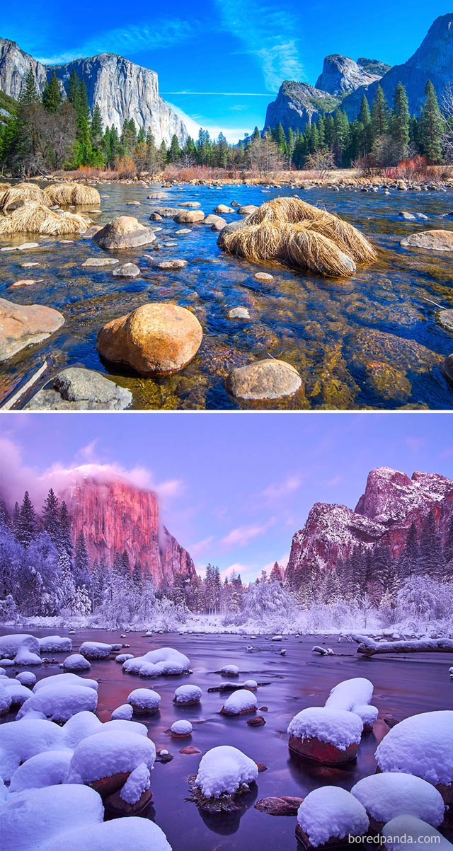 Yosemite Nemzeti Park, Kalifornia, USA