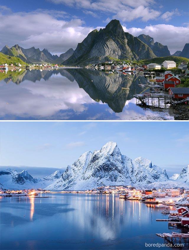Reine, Norvégia