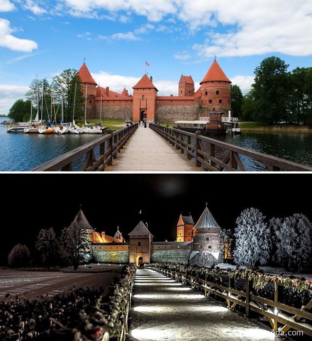 Trakai várkastély, Litvánia