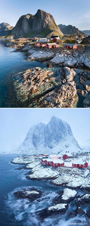 Hamnøy, Norvégia