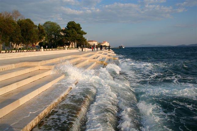 Tengeri orgona, Zadar