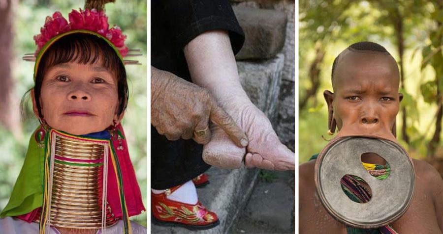 A legextrémebb tradicionális testmódosítások