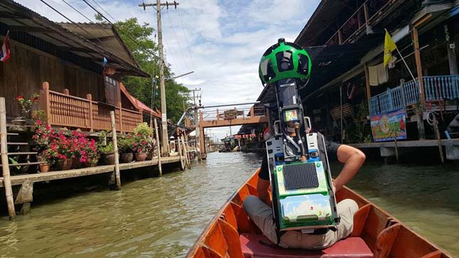 Thaiföld Google Street View