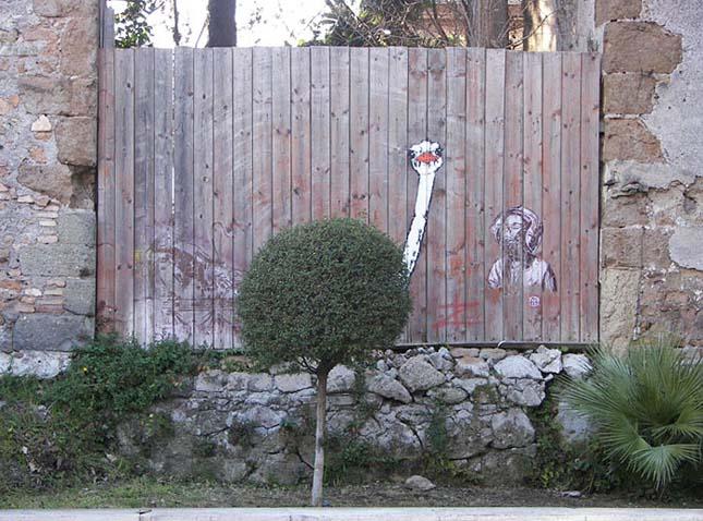Ötletes utcai alkotások