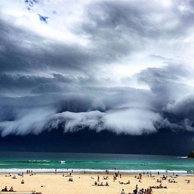 Viharfelhő Sydney felett