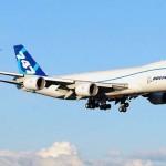 Az új Boeing 747-8 repülőgép debütálása