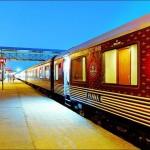India legdrágább vonata, a Maharadzsa Expressz