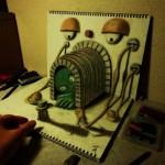 Káprázatos 3D-s rajzok Nagai Hideyukitól