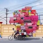 Így szállítanak Kínában – Alain Delmore fotói