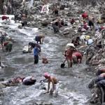 """Guatemalai """"szemétbányászok"""""""