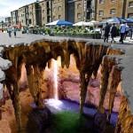 Elképesztő 3D-s utcai illúziók
