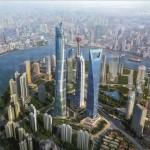 632 méter magas felhőkarcoló épül Sanghaiban