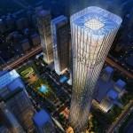 Épül Peking legmagasabb, 528 méter magas felhőkarcolója
