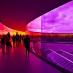 Szivárvány Panoráma – színpompás panoráma építmény Dániában