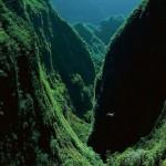A csodálatos Trou de Fer szurdok a távoli La Reunion szigetén
