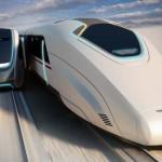 A jövő vasúti közlekedése: átszállás egy mozgó vonatra