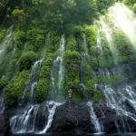 A különleges Asik-Asik vízesés