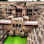Chand Baori – különleges lépcsős kút Indiában