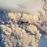 A Puyehue vulkán kitörését megörökítő fotósorozat