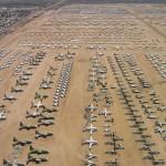 Hatalmas repülőgép temetők Amerikában
