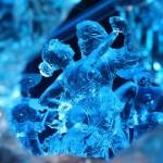 Gyönyörű jégszobrok