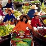 Úszó piacok Ázsiában