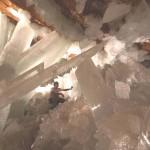 Lélegzetelállító kristálybarlang Mexikóban