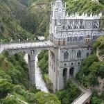 El Santuario de las Lajas – katedrális a szurdok felett