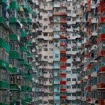 Hatalmas, végeláthatatlan lakótelepek Hong Kongban
