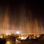 Fénypillérek – gyönyörű égi jelenség