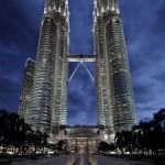A nap képe – A Petronas ikertornyok, Malajzia