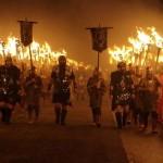 Up Helly Aa – a látványos Viking Tűz-fesztivál