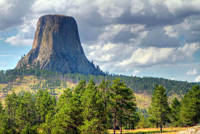 Ördögtorony (Devils Tower), Wyoming