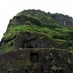 A 18. századi Iron Fort erőd Indiában