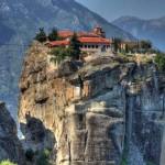 Meteora, az égbe meredő kolostorváros