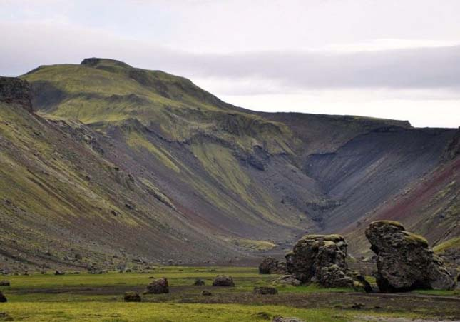 Eldgeya, Izland