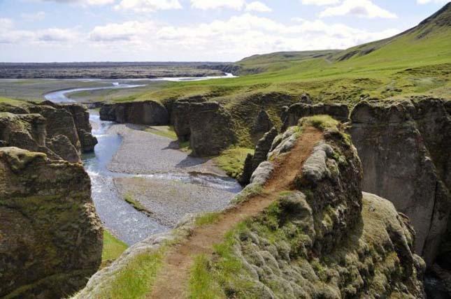 Fjaörárgljúfur, Izland