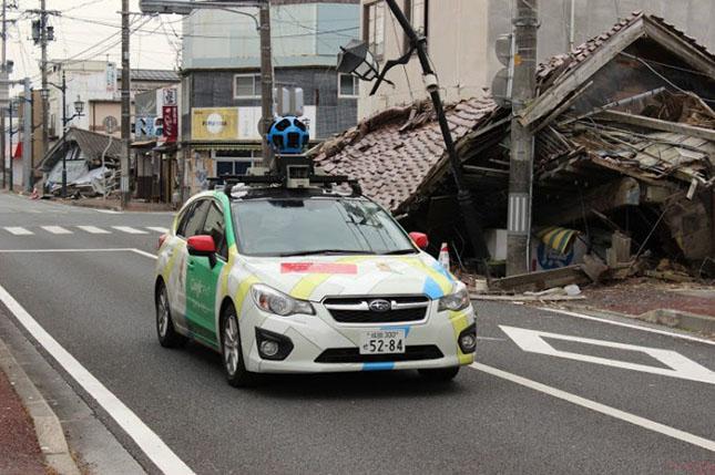 Google Street View - Fukushima-