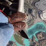 """A nap képe – Lélegzetelállító """"rooftopping"""" fotó a világ legmagasabb épületéről"""