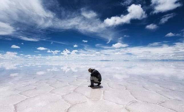 Salar de Uyuni a világ legnagyobb sómezője8
