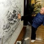 A kéz nélküli festő fantasztikus alkotásai