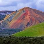 Izland színes hegyei